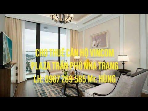 Vincom Nha Trang- Cho Thuê Căn Hộ VinCom Cao Cấp 3000$ Một tháng