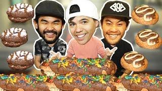 Dinner Donuts Food Challenge! (Ft. Ryan Higa & RHPC)