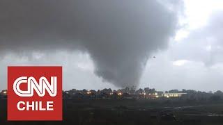 En Chile se han registrado más de 20 tornados y/o trombas y el primero data de 1633