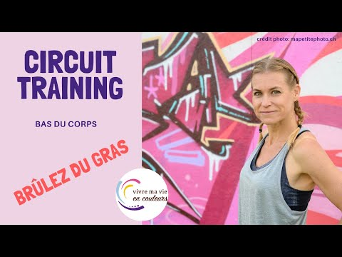 Circuit training bas du corps