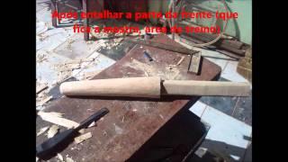 Construindo Um Mudjong - Wood Dummy - 木人桩