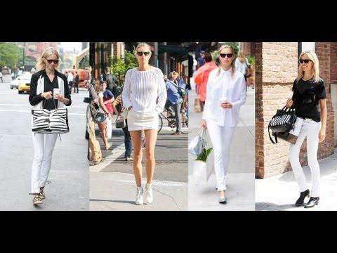 Karolina Kurkova Perfects Black and White | Celebrity Style | Fashion Flash