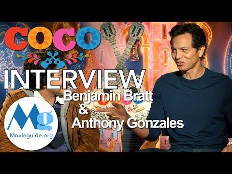 COCO Interview: Benjamin Bratt & Anthony Gonzalez