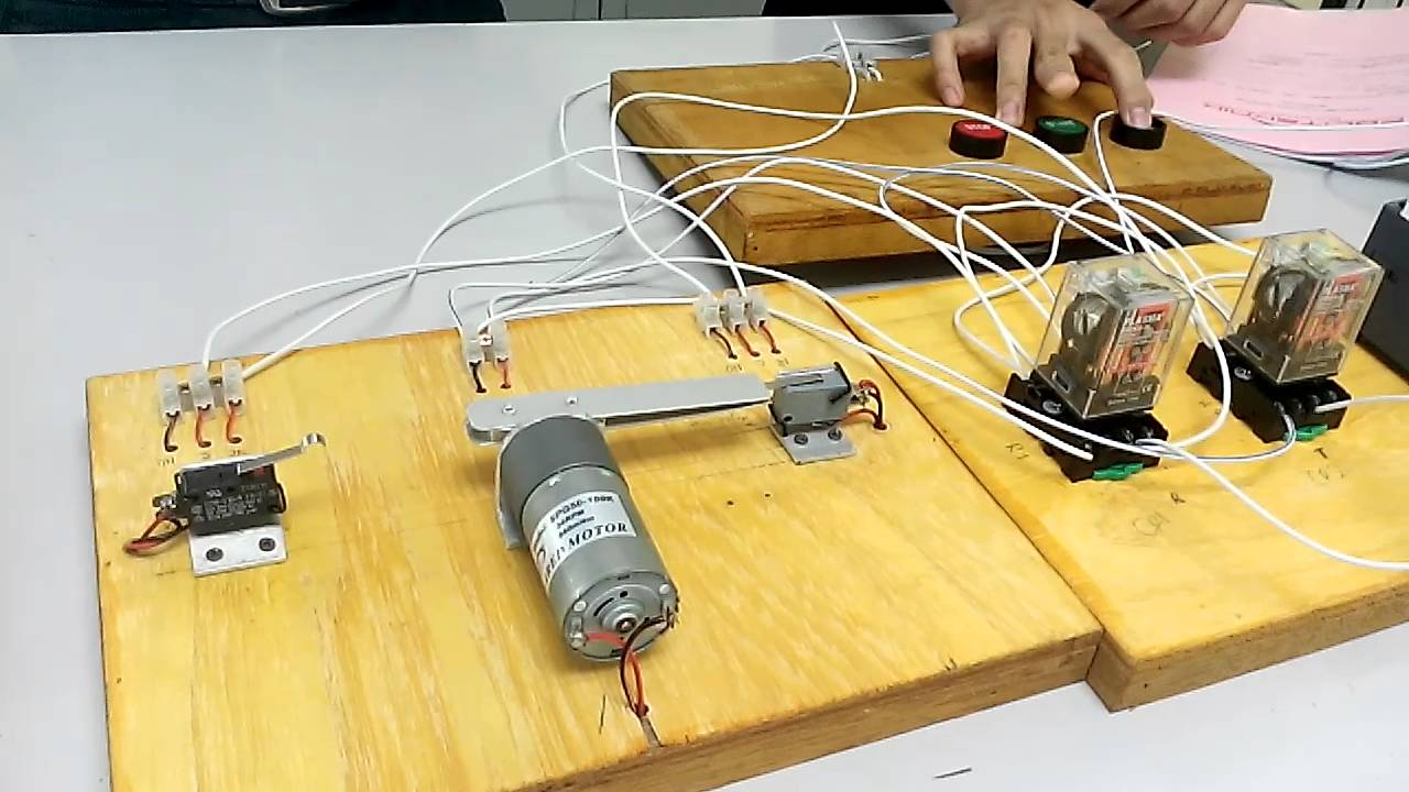 Design Amp Apply Sensor Limit Switch Amp A Dc Motor In A Simple