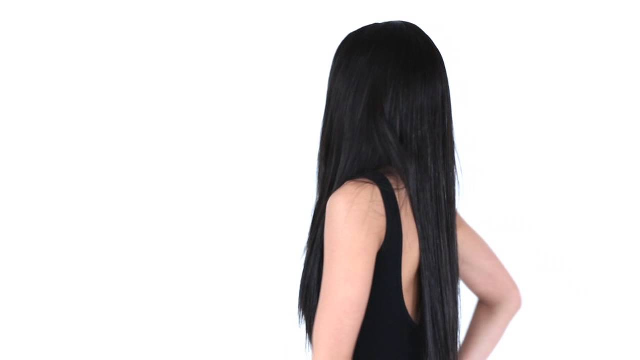 Weave Hairstyles The Bone Straight Look Youtube