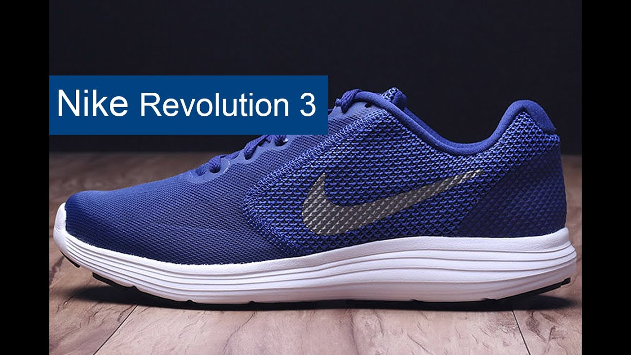 the latest bff2b 80f0b Nike Revolution 3 обзор