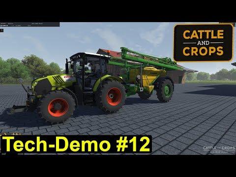 Cattle and Crops - Tech Demo - Mais und eine Feldspritze #12 -  Deutsch/German
