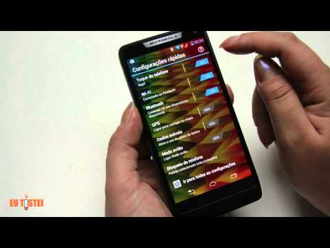 Smartphone Motorola RAZR i XT890 - Resenha Brasil