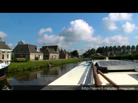 Friesland - Netherlands - HDTV Trip on a Boat