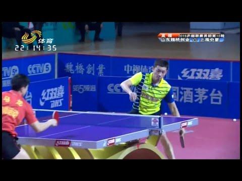 2016 China Super League: MA Long Vs XU Xin [Full Match/Chinese|HD]