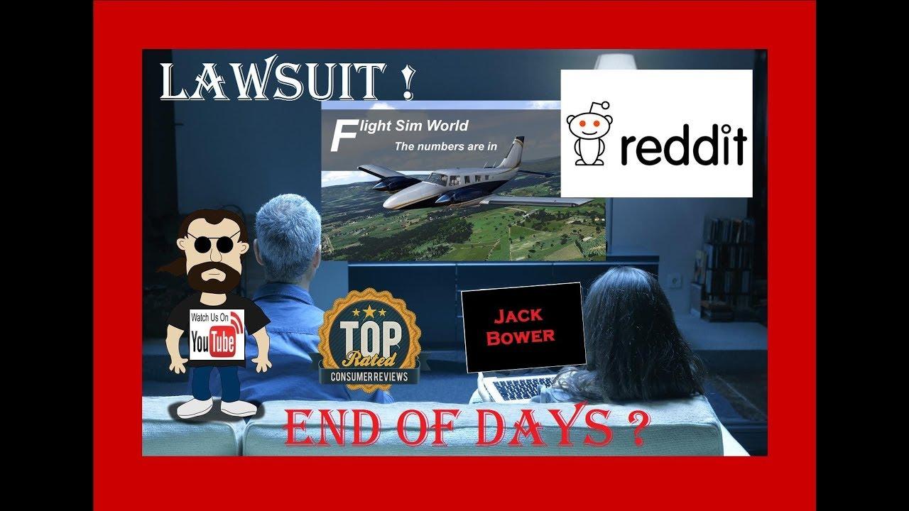 Flight Sim Secret & End of reddit Days
