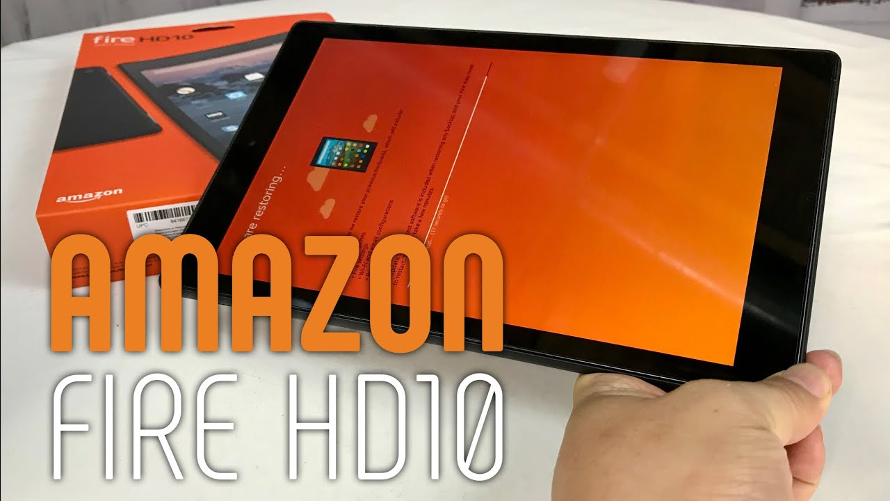 "Amazon Fire HD10 10 1"" Tablet"