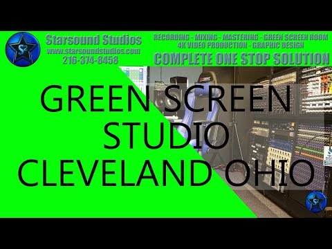Green Screen Studio (Chroma Key) In Ohio Starsound Studios Commercial Ohio Studio 216-374-8458 ✅