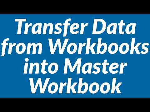 math worksheet : transfer data from multiple workbooks into master workbook  : Merge Data From Multiple Worksheets