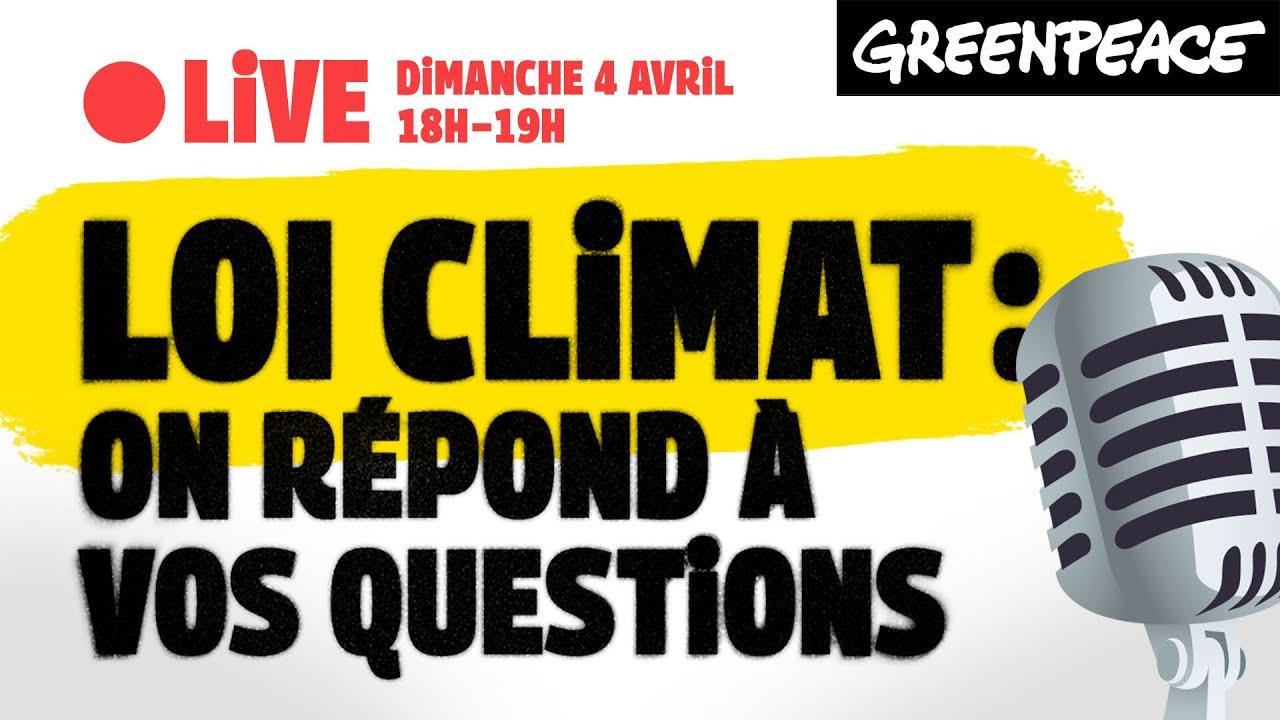 LIVE - Loi Climat : on répond à vos questions