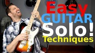 EASY Guitar Soloing Tricks! - Simplifying The Solo!