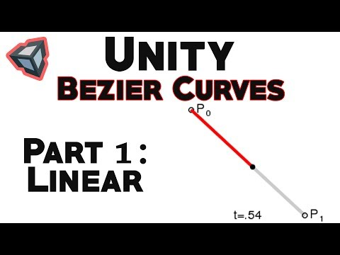 Bezier Curves in Unity: Linear Curve