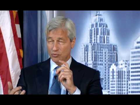 Jamie Dimon Speaks at the DEC