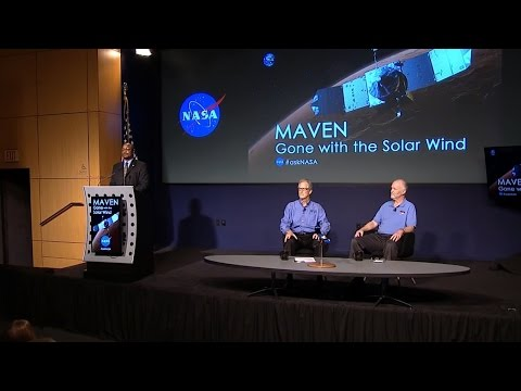 Nasa Press Conference Reveals Martian Atmosphere