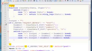 Уроки по PHP. Как создать калькулятор на PHP