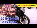 2019 Suzuki GSXR 600 ǀ 2018 AIMExpo Las Vegas