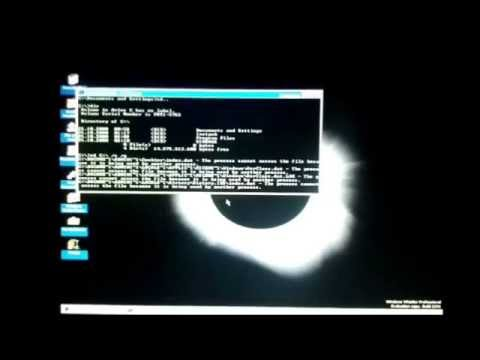 Windows Whistler Build 2296 Destruction