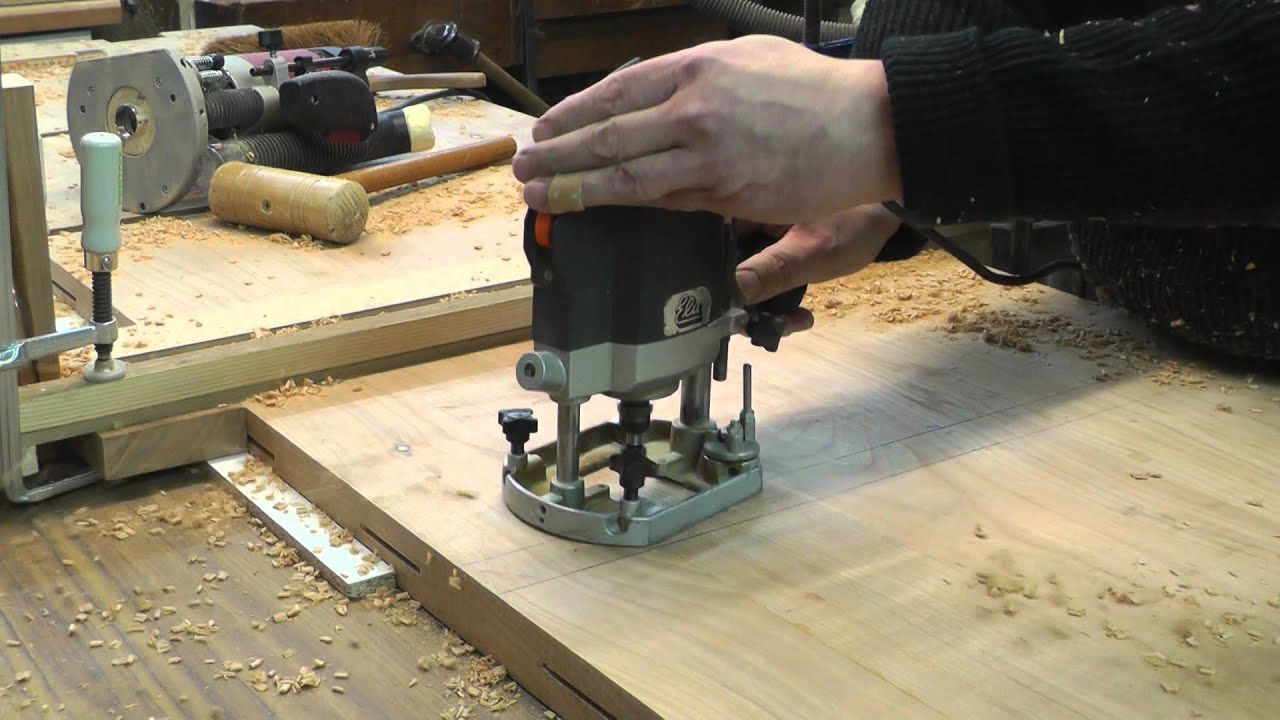 Tischplatte selber verleimen  Esszimmertisch 3 - Bau der Tischplatte Teil 2 - YouTube