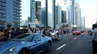 Dubai Grand Car Parade 2013