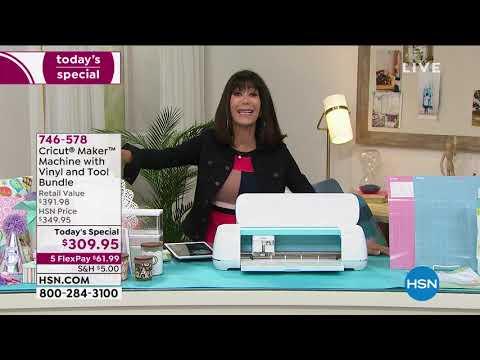 HSN | Paper Crafting featuring Cricut 03.02.2021 – 11 AM