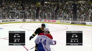 NHL 13 - Fights