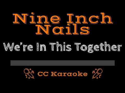 Nine Inch Nails   We're In This Together CC Karaoke Instrumental