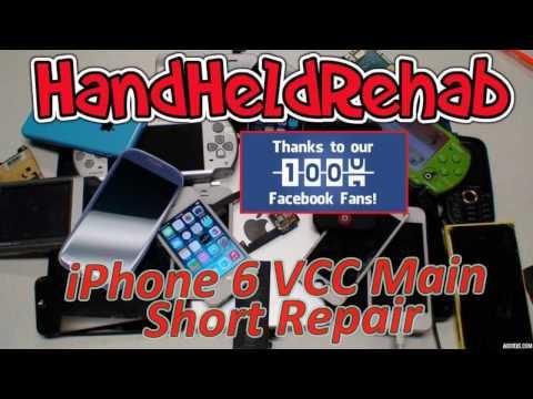 iPhone 6 VCC Main Short Repair