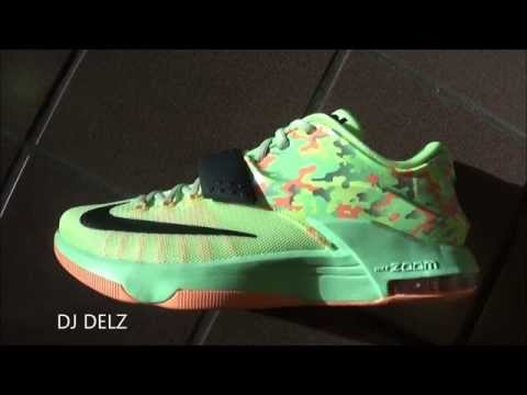 """nike-kd-7-vii-easter-""""spring-camo""""-sneaker-review-with-dj-delz"""