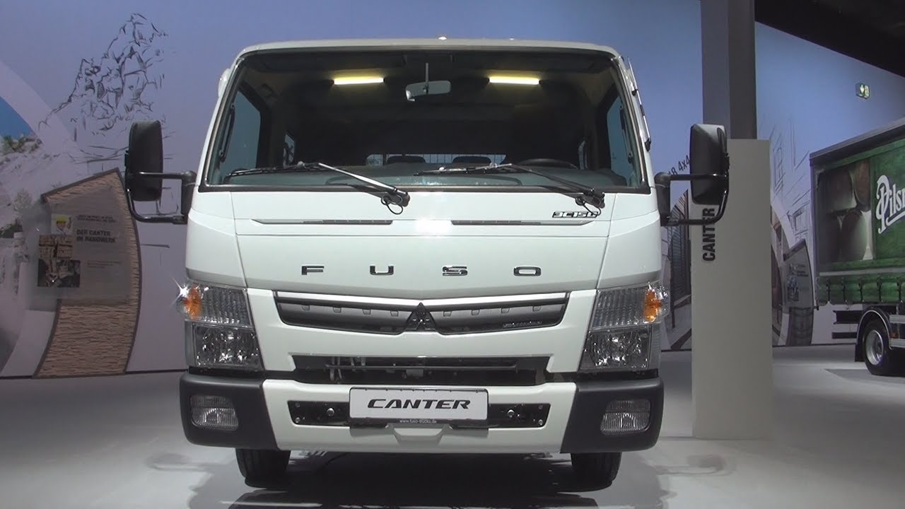 Mitsubishi Fuso Canter 3C15D Double Cab Tipper Truck (2017) Exterior and  Interior