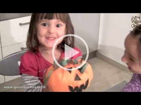 La zucca di halloween lavoretti youtube for Youtube lavoretti per bambini