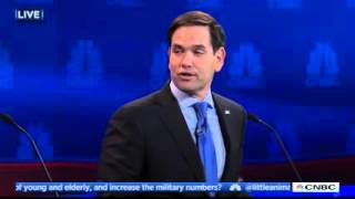 Jeb Bush VS Marco Rubio CNBC Debate | TheBlaze