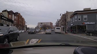Driving by Cliffside Park,New Jersey