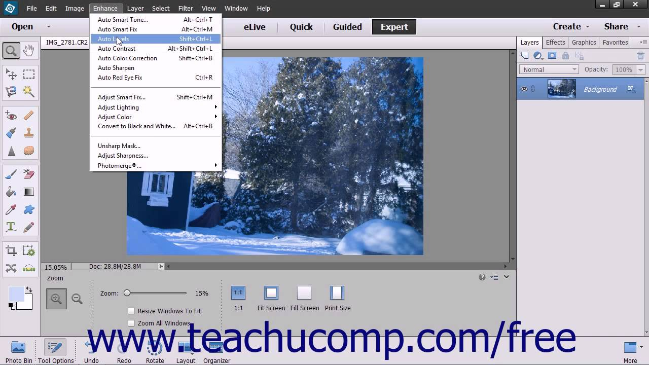How to fix color cast in photoshop elements - Photoshop Elements 13 Tutorial Removing Color Casts Adobe Training