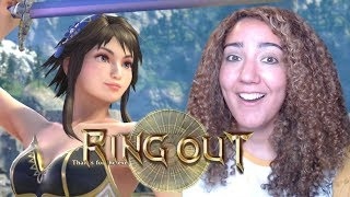 MY FIRST RING OUT! - Soul Calibur VI Online Ranked Matches (Network Test)