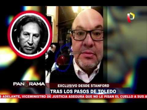 Exclusivo desde California: Tras los pasos de Alejandro Toledo