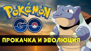 Прокачка и Эволюция - Pokemon GO