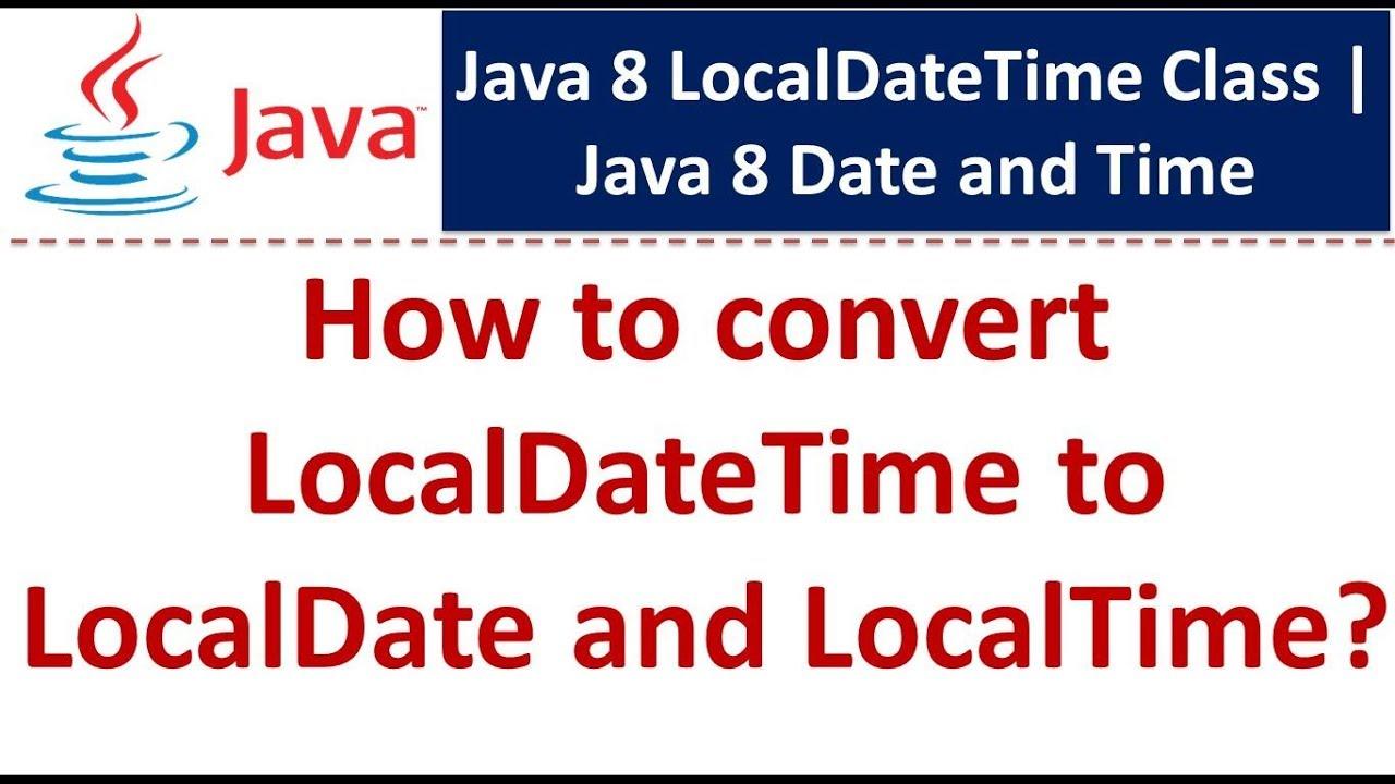java convert date to localdate