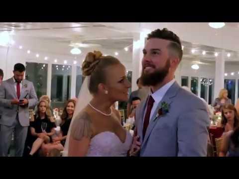"Josh Abbott Band performs ""She's Like Texas"" at Maci Bookout's Wedding on MTV's Teen Mom OG"