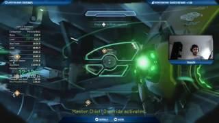 Halo 5 Full Game Legendary Speedrun 1h34m58s (1h43m23s RTA)