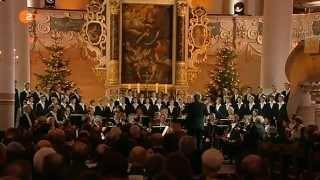 Dresdner Kreuzchor In dulci jubilo Carl Thiel Weihnachten mit dem Bundespräsidenten ZDF 24.12.14