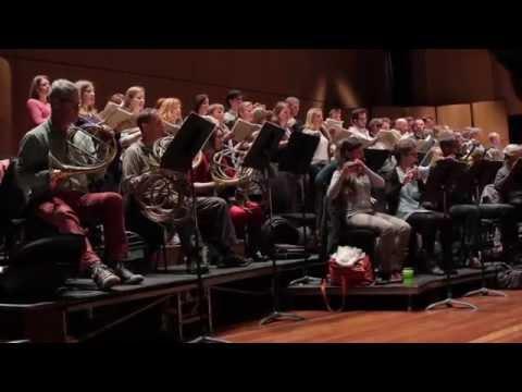 Sir Simon Rattle rehearses Haydn