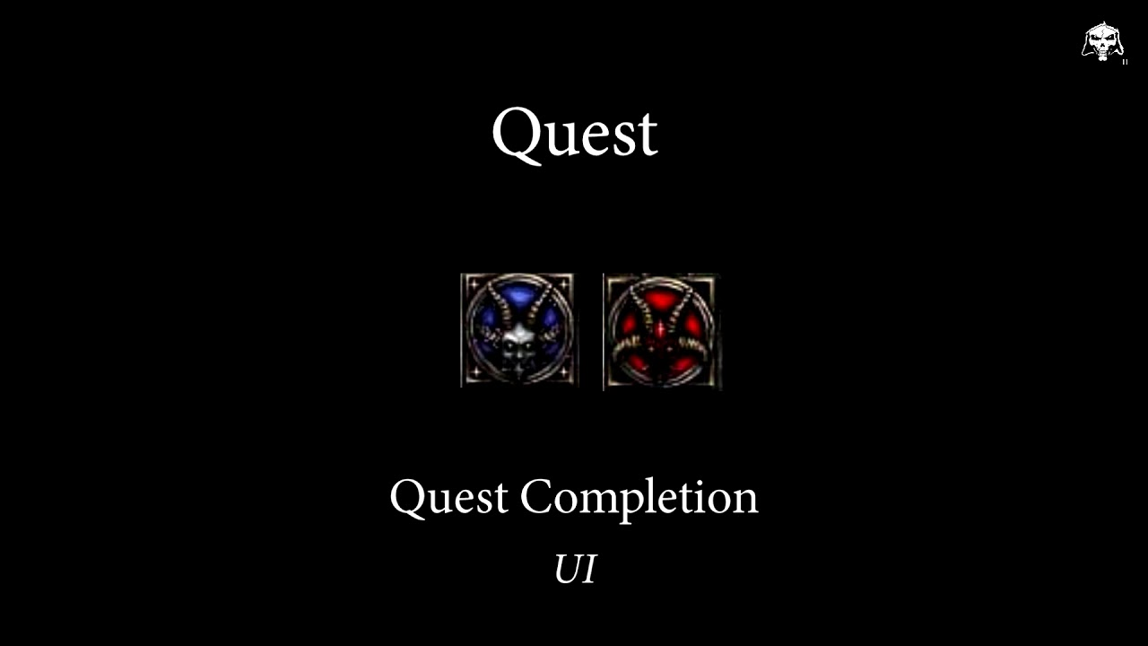 Quest Completion (Sound Effect) | Diablo II