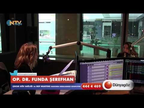 Op. Dr. Funda Şerefhan NTV Radyo'da Çocuk Göz Sağlığı Hakkında Bilgilendiriyor