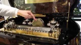 Reuge Music Box in Action