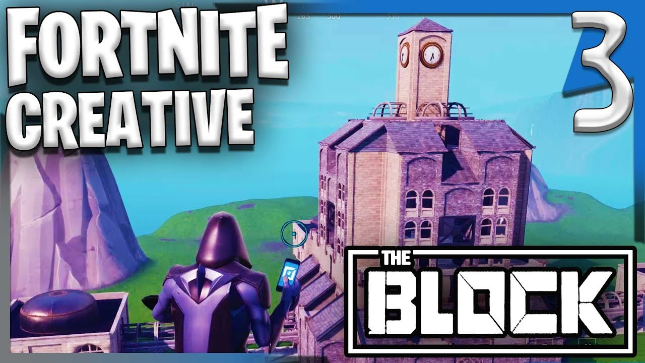 The Block Contest Entry Pt1 Fortnite Creative Gameplay Let S